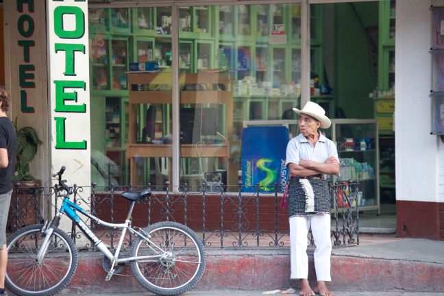Mayan cowboy hat