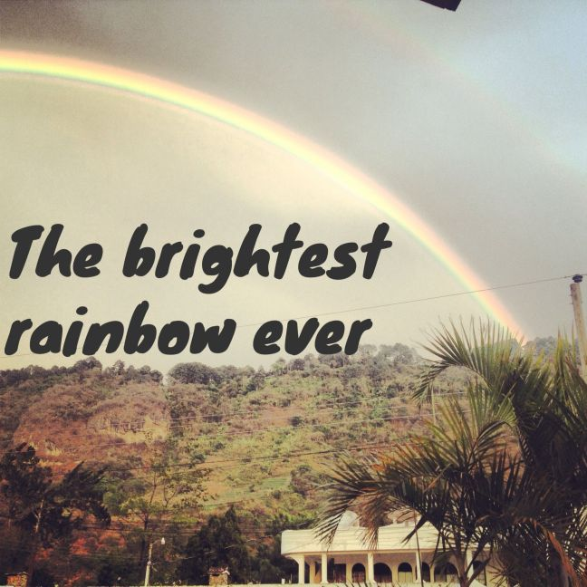 brightest rainbow