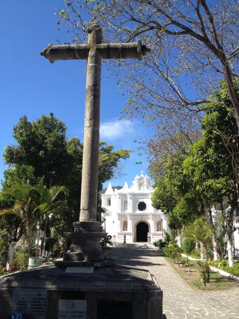 cross and cathedral
