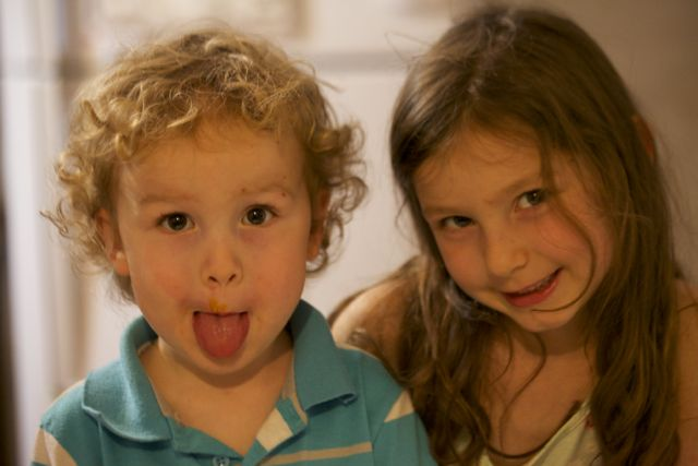 Ezra and Abra birthday