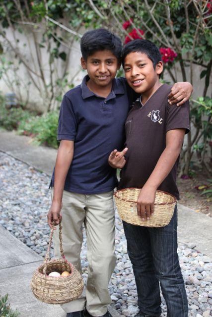 Luis and Salvador