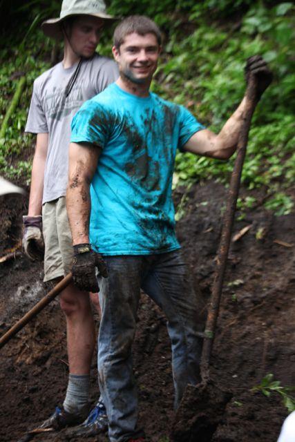 muddy shovler Matt