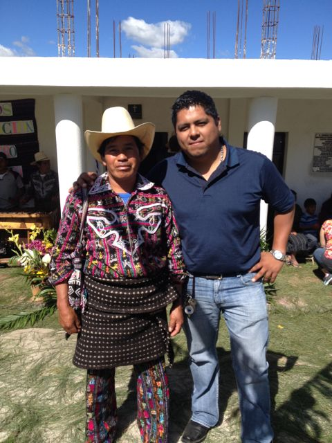 Noe with community leader
