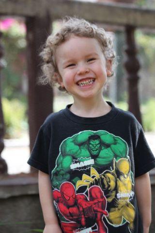 Ezra William Deeds 4 years old