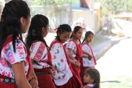 a traditional mayan dance