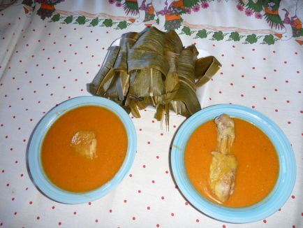 Polick and tamales