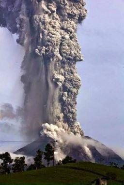 Volcán Fuego near Antigua, Guatemala