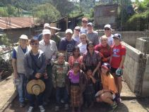 A group from Florida came the week before to serve with us