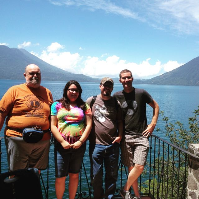 Loved having my brother, sister, and Dad here with us in Guatemala