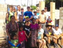 Olive Branch Church helping build Antonia's house